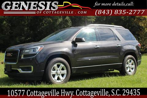 2015 GMC Acadia for sale in Cottageville, SC