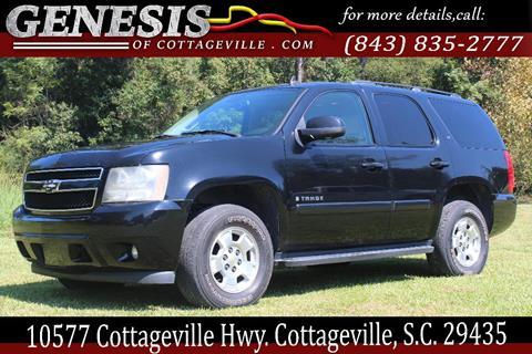 2007 Chevrolet Tahoe for sale in Cottageville, SC