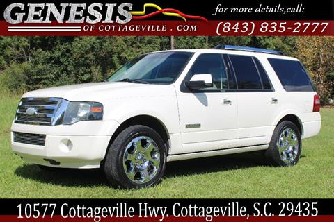 2008 Ford Expedition for sale in Cottageville, SC