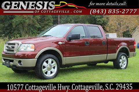 2006 Ford F-150 for sale in Cottageville, SC