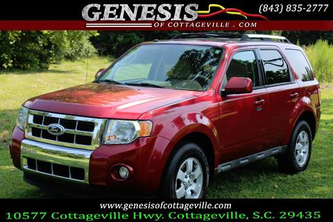 2012 Ford Escape For Sale >> 2012 Ford Escape For Sale In Cottageville Sc