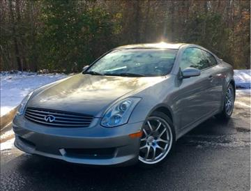2007 Infiniti G35 for sale at ONE NATION AUTO SALE LLC in Fredericksburg VA