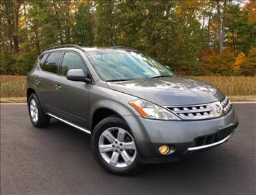2007 Nissan Murano for sale at ONE NATION AUTO SALE LLC in Fredericksburg VA