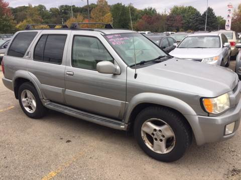 2001 Infiniti QX4 for sale in Rochester, MN