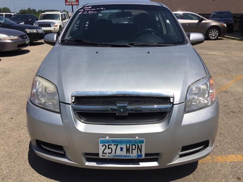 2008 Chevrolet Aveo Ls 4dr Sedan In Rochester Mn Gillys Auto Sales