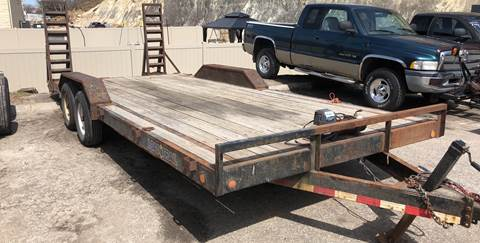 2012 Load Trail car trailer