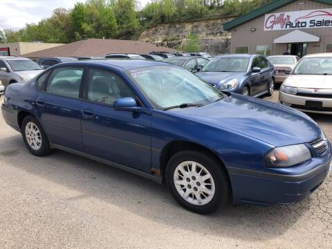 2005 Chevrolet Impala for sale at Gilly's Auto Sales in Rochester MN