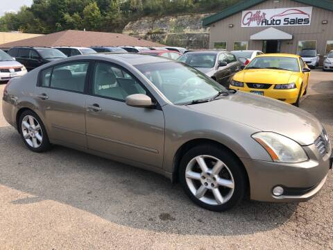 2005 Nissan Maxima for sale at Gilly's Auto Sales in Rochester MN