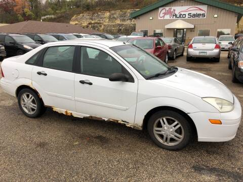 2002 Ford Focus for sale at Gilly's Auto Sales in Rochester MN