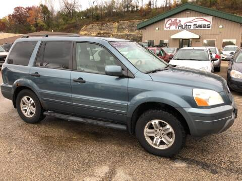 2005 Honda Pilot for sale at Gilly's Auto Sales in Rochester MN
