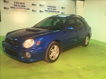 2002 Subaru Impreza for sale in Lancaster, TX