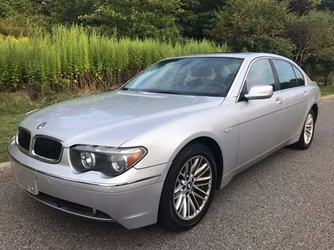 2004 BMW 7 Series for sale in Baldwin Place, NY
