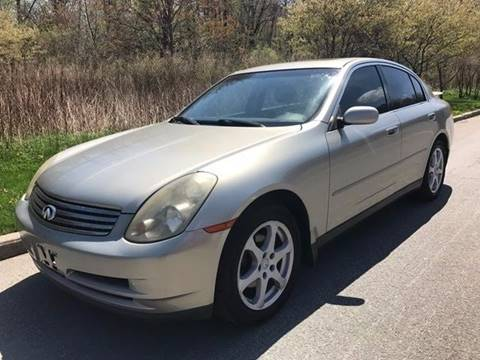 2004 Infiniti G35X for sale in Baldwin Place, NY