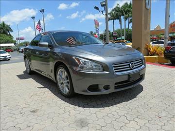 2014 Nissan Maxima for sale in Miami, FL