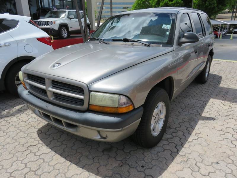 2001 DODGE DURANGO SPORT 2WD 4DR SUV silver front air conditioning front air conditioning zones