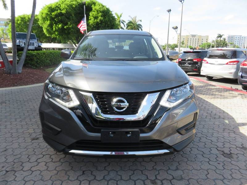 2017 NISSAN ROGUE S AWD 4DR CROSSOVER gray rear spoiler - roofline door handle color - body-colo