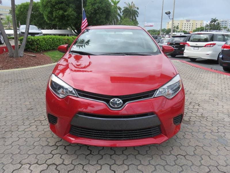 2015 TOYOTA COROLLA LE PLUS 4DR SEDAN red door handle color - body-color front bumper color - bo