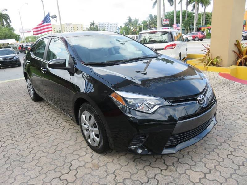 2015 TOYOTA COROLLA LE 4DR SEDAN black door handle color - body-color front bumper color - body-