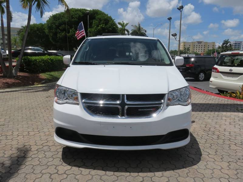 2016 DODGE GRAND CARAVAN SXT 4DR MINI VAN white body side moldings - body-color door handle colo