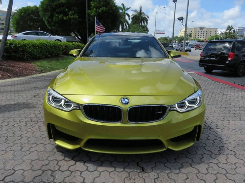2015 BMW M4 BASE 2DR COUPE gold loaded come with all options see photos exhaust - quad tip