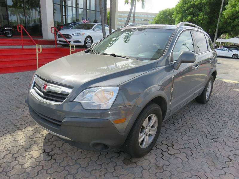 2008 SATURN VUE XE 4DR SUV gray door handle color - body-color exhaust tip color - stainless-ste
