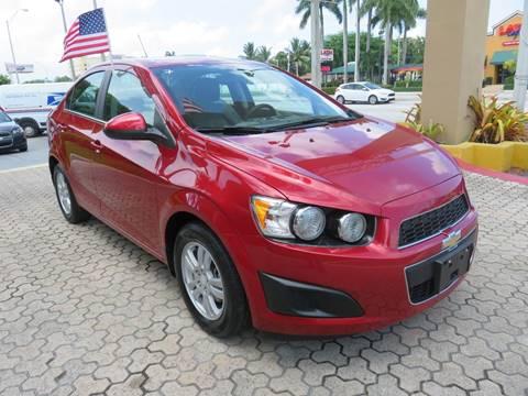 2015 Chevrolet Sonic for sale in Miami, FL