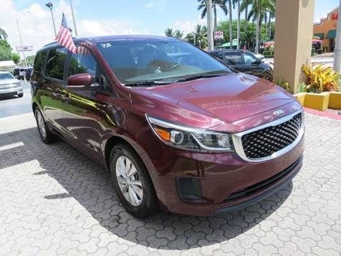 2016 Kia Sedona for sale in Miami, FL