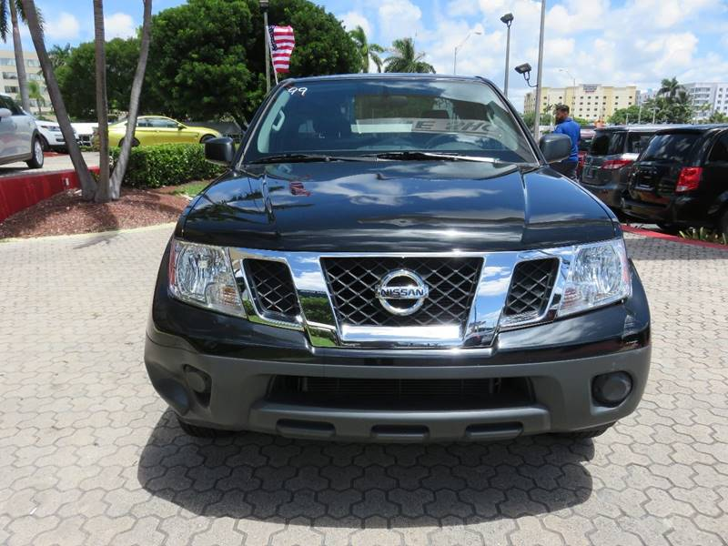 2016 NISSAN FRONTIER S 4X2 4DR KING CAB 61 FT SB PI black rear spoiler - tail-gate door handle