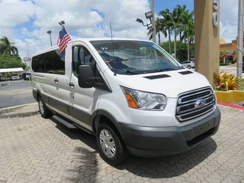 2016 Ford Transit Wagon & Ford Used Cars financing For Sale Miami THE SHOWROOM MIAMI markmcfarlin.com