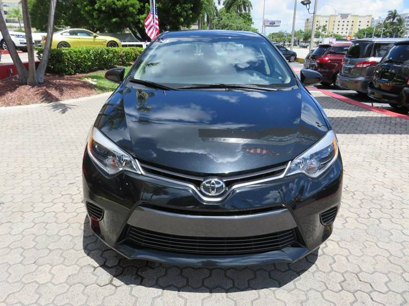 2015 TOYOTA COROLLA LE 4DR SEDAN gray door handle color - body-color front bumper color - body-c