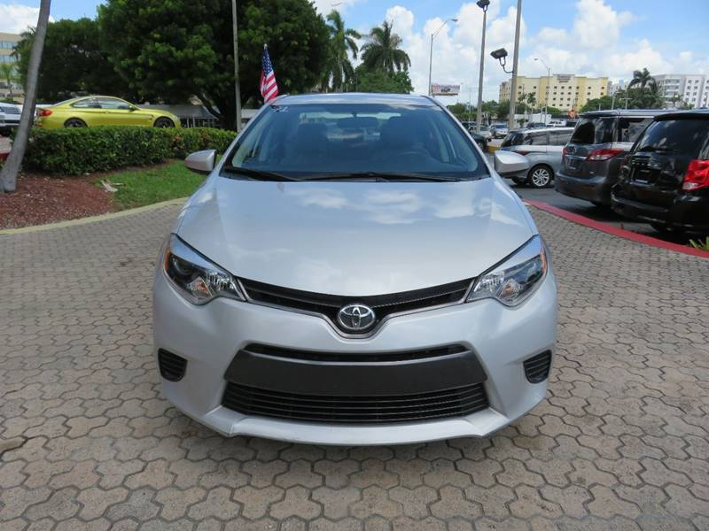 2016 TOYOTA COROLLA LE 4DR SEDAN silver door handle color - body-color front bumper color - body