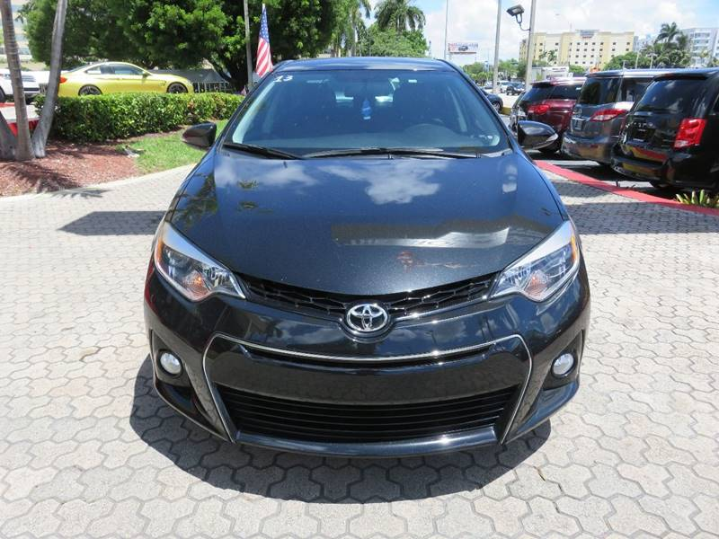 2016 TOYOTA COROLLA S PLUS 4DR SEDAN CVT black door handle color - body-color exhaust tip color