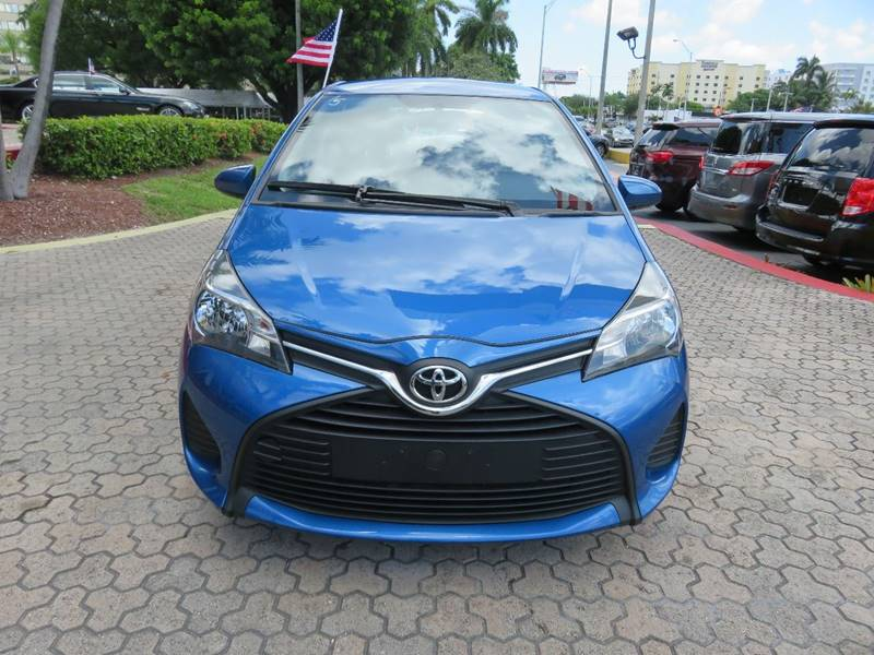 2016 TOYOTA YARIS 5 DOOR LE 4DR HATCHBACK blue 2-stage unlocking doors abs - 4-wheel air filtra
