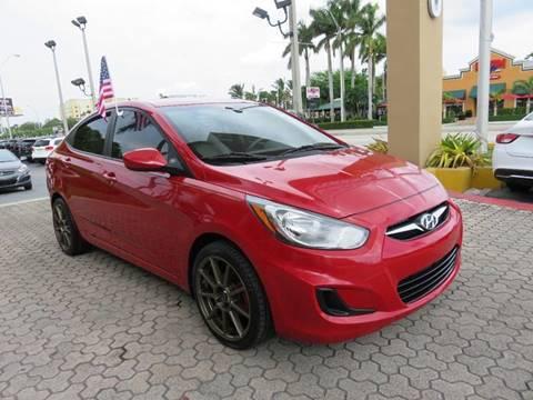 2012 Hyundai Accent for sale in Miami, FL
