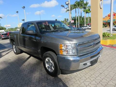 2013 chevrolet silverado 1500 for sale in miami fl. Black Bedroom Furniture Sets. Home Design Ideas