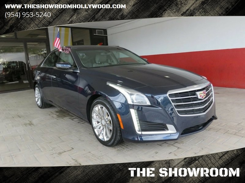 2016 Cadillac Cts 2 0t In Hollywood Fl The Showroom