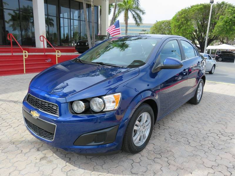 2014 CHEVROLET SONIC LT AUTO 4DR SEDAN blue the showroom miami is a family owned first class use