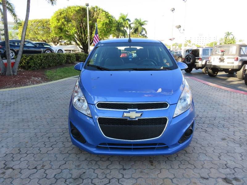 2014 CHEVROLET SPARK 1LT CVT 4DR HATCHBACK blue the showroom miami is a family owned first class