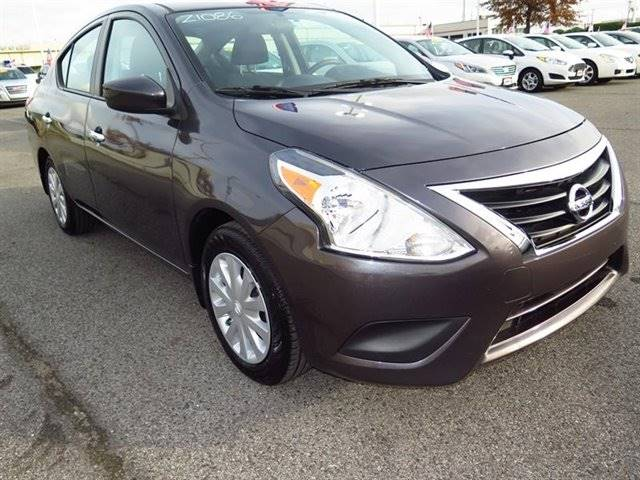 2015 NISSAN VERSA 16 SV 4DR SEDAN gray the showroom miami is a family owned first class used ca