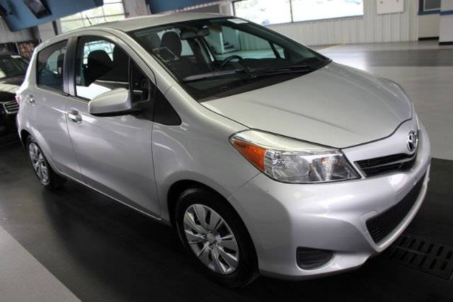 2014 TOYOTA YARIS 5-DOOR SE 4DR HATCHBACK 4A silver the showroom miami is a family owned first c