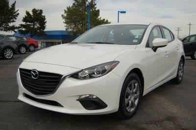 2014 MAZDA MAZDA3 I SPORT 4DR SEDAN 6A white the showroom miami is a family owned first class us