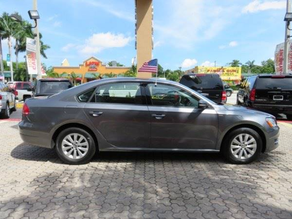 2015 VOLKSWAGEN PASSAT LIMITED EDITION PZEV 4DR SEDAN 6 gray the showroom miami is a family owned