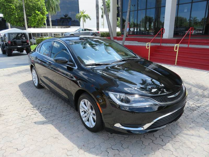 2015 CHRYSLER 200 LIMITED 4DR SEDAN gray the showroom miami is a family owned first class used c