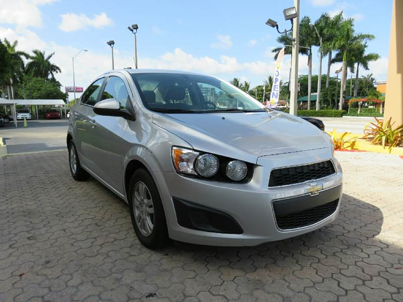2014 CHEVROLET SONIC LT AUTO 4DR SEDAN silver the showroom miami is a family owned first class u