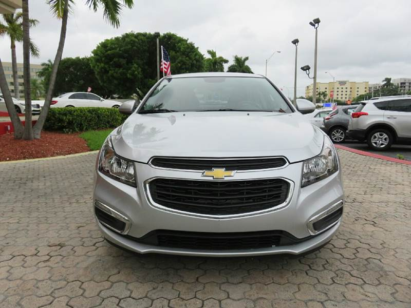 2015 CHEVROLET CRUZE 2LT AUTO 4DR SEDAN W1SH silver the showroom miami is a family owned first