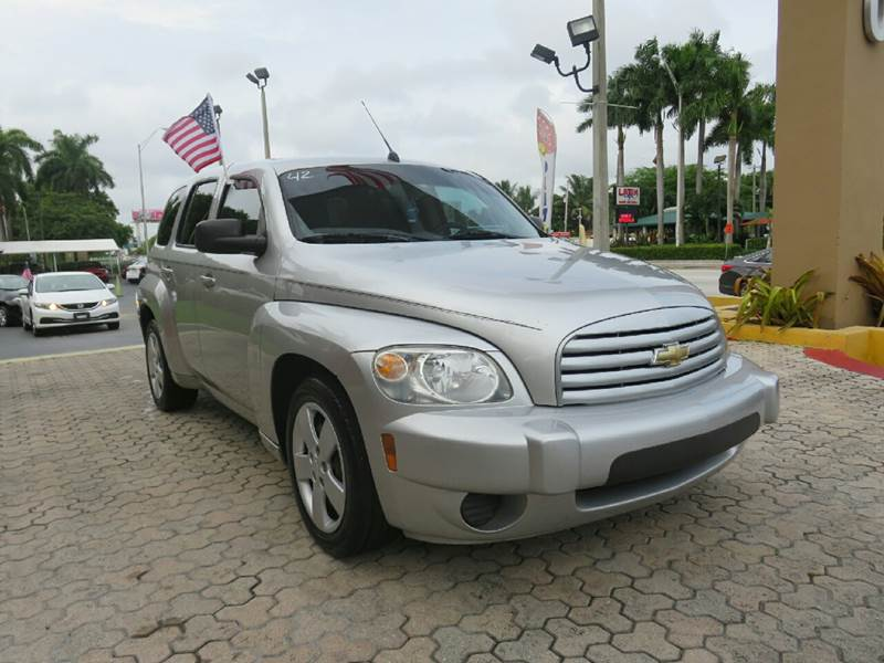 2008 CHEVROLET HHR LS 4DR WAGON silver the showroom miami is a family owned first class used car