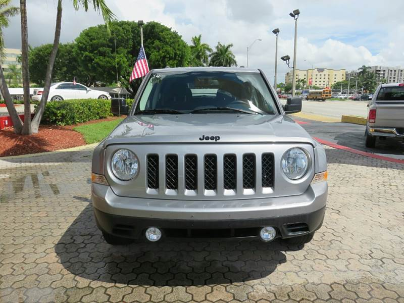 2015 JEEP PATRIOT ALTITUDE EDITION 4X4 4DR SUV silver the showroom miami is a family owned first