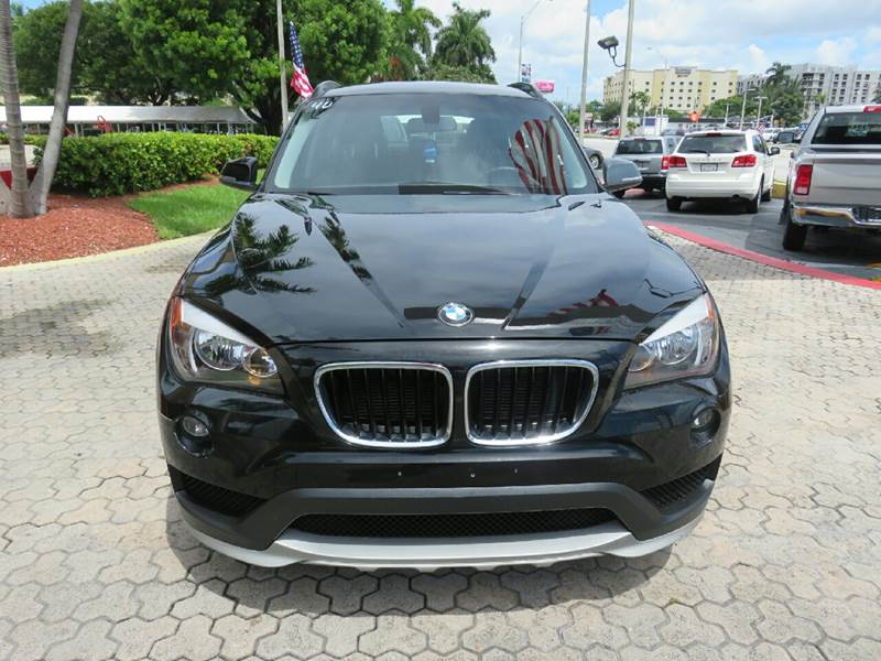 2015 BMW X1 XDRIVE28I AWD 4DR SUV black the showroom miami is a family owned first class used ca