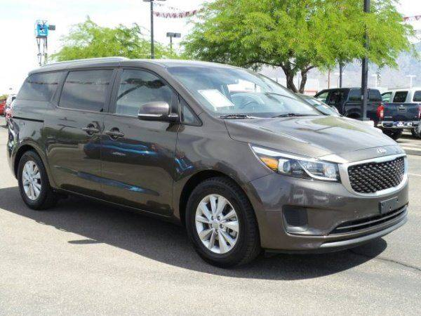 2015 KIA SEDONA LX 4DR MINI VAN brown the showroom miami is a family owned first class used car