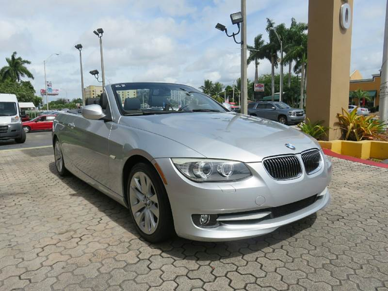 2012 BMW 3 SERIES 328I 2DR CONVERTIBLE silver the showroom miami is a family owned first class u